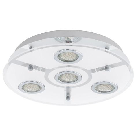 EGLO 93107 - LED Stropní svítidlo CABO 4xGU10/3W LED