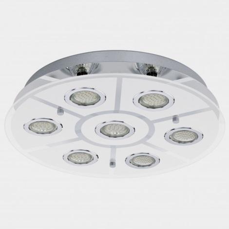 Eglo 93108 - LED stropní svítidlo CABO 7xGU10/3W/230V