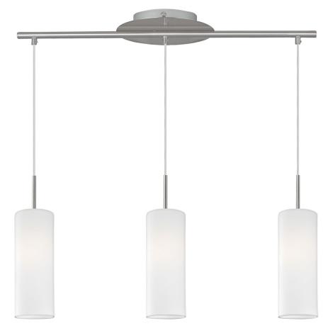 Eglo 93195 - LED závěsné svítidlo TROY4 3xE27/7W/230V