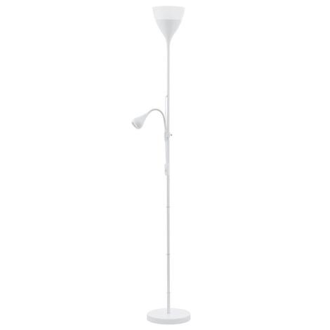 Eglo 93209 - Led stojací lampa SPELLO 2 1xE27/7W + 1xGU10/3W