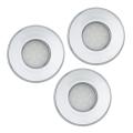 Eglo 93219 - SADA 3x LED koupelnové podhledové svítidlo IGOA 3xGU10-LED/5W/230V IP44