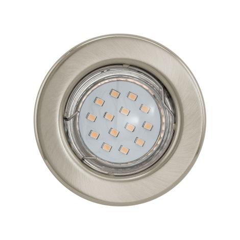 Eglo 93225 - LED podhledové svítidlo IGOA 1xGU10/3W/230V