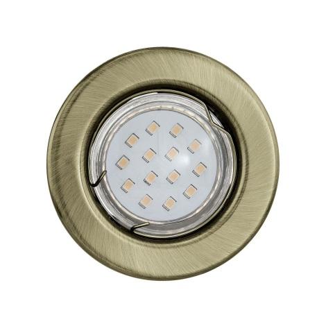 Eglo 93226 - LED podhledové svítidlo IGOA 1xGU10/3W/230V