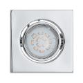 Eglo 93242 - LED podhledové svítidlo IGOA 1xGU10/5W/230V chrom lesk