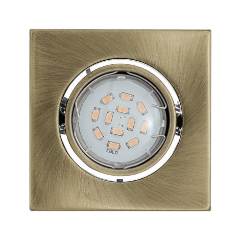 Eglo 93244 - LED podhledové svítidlo IGOA 1xGU10/5W/230V bronz