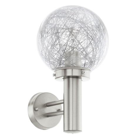 Eglo 93366 - Venkovní nástěnné svítidlo NISIA 1 1xE27/60W/230V