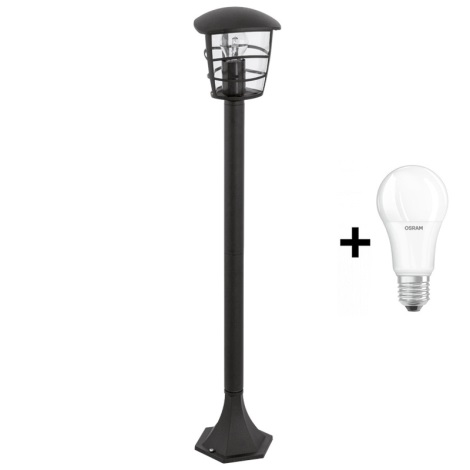 Eglo 93408 -  Venkovní lampa ALORIA E27/60W/230V