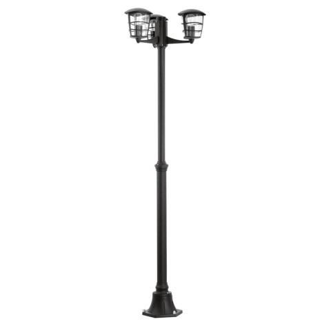 Eglo 93409 - Venkovní lampa ALORIA 3xE27/60W/230V