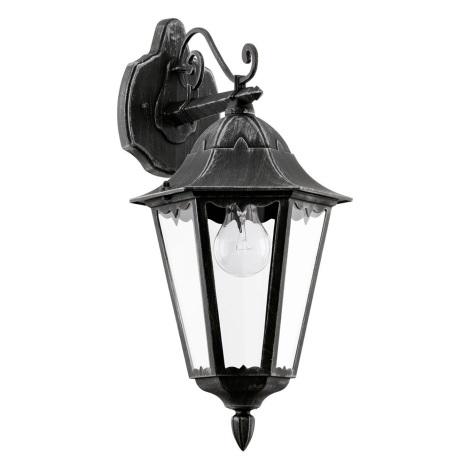 Eglo 93456 - Venkovní nástěnné svítidlo NAVEDO 1xE27/60W/230V