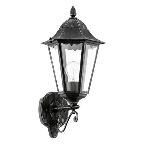 Eglo 93457 - Venkovní nástěnné svítidlo NAVEDO 1xE27/60W/230V