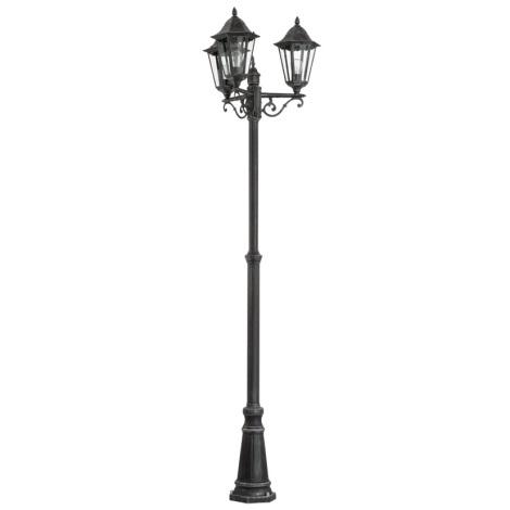Eglo 93465 - Venkovní lampa NAVEDO 3xE27/60W/230V