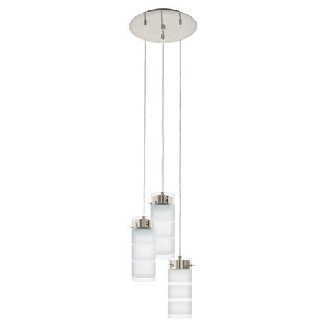 Eglo 93544 - LED závěsné svítidlo OLVERO 3xGX53/7W/230V