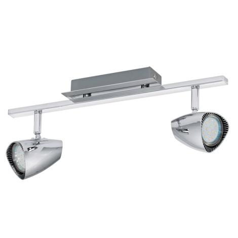 Eglo 93673 - LED bodové svítidlo CORBERA 2xGU10/3W/230V