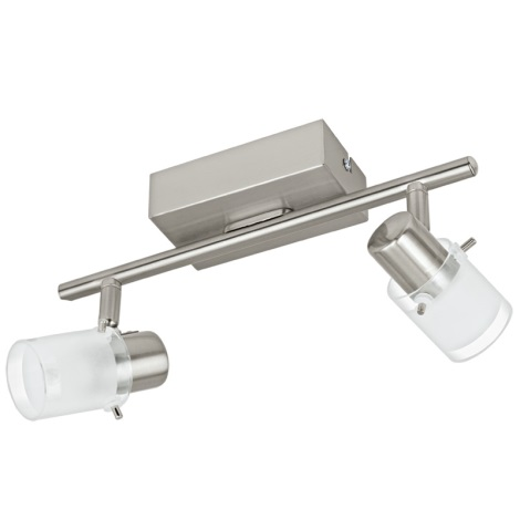 Eglo 93702 - LED bodové svítidlo ORVIETO 1 2xLED/3,3W/230V