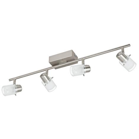 Eglo 93704 - LED bodové svítidlo ORVIETO 1 4xLED/3,3W/230V