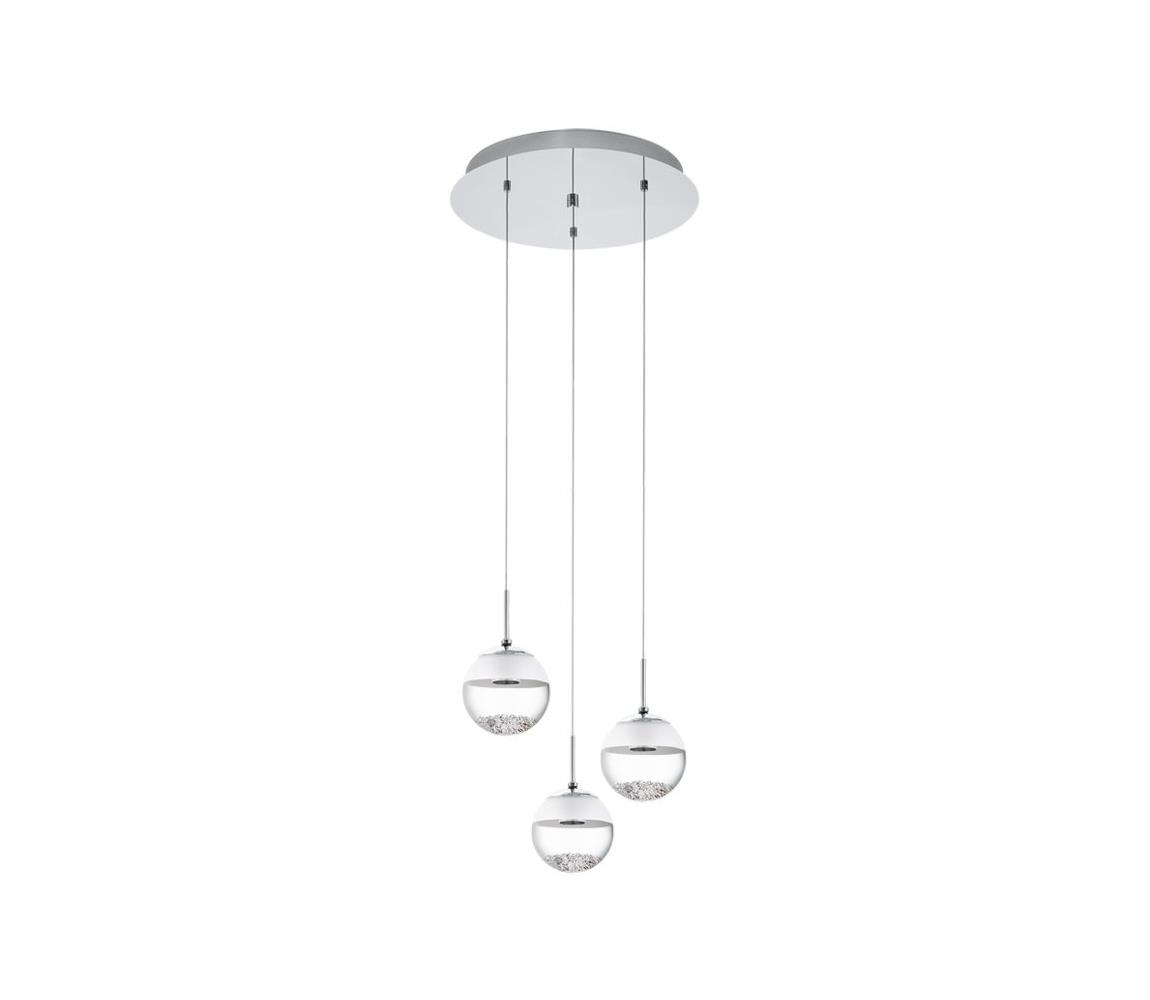 Eglo 93709 - LED lustr MONTEFIO 1 3xLED/5W/230V EG93709