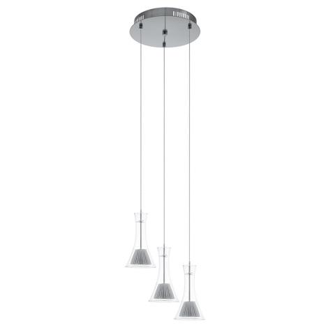Eglo 93792 - LED závěsné svítidlo MUSERO 3xLED/5,4W/230V
