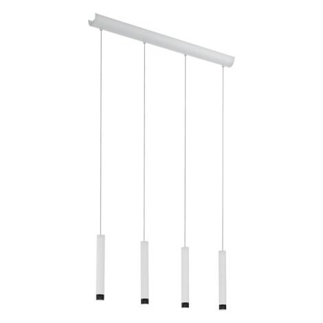 Eglo 93797 - LED závěsné svítidlo RAPARO 4xLED/5W/230V