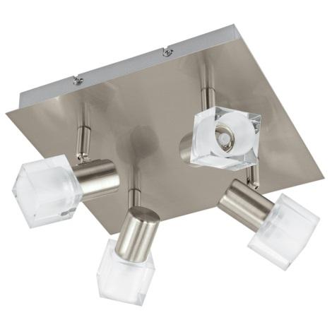 Eglo 93815 - LED bodové svítidlo NOCERA 4xLED/5W/230V