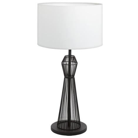 Eglo 93989 - Stolní lampa VALSENO 1xE27/60W/230V