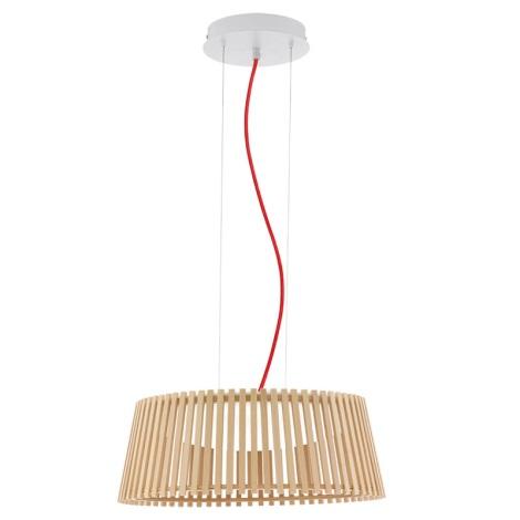 Eglo 94018 - LED závěsné svítidlo ROVERATO LED/18W/230V