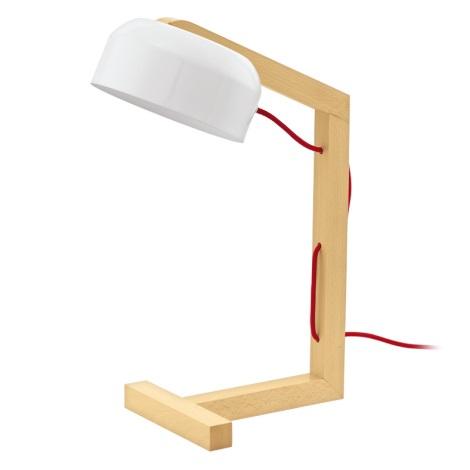 Eglo 94035 - Stolní lampa GIZZERA 1xE27/60W/230V