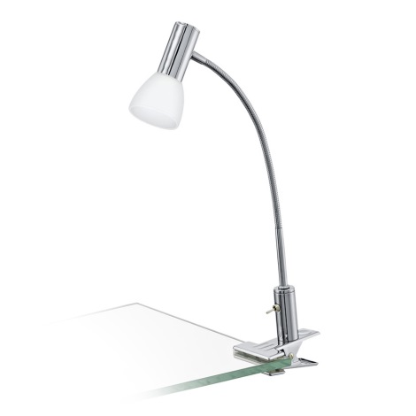 Eglo 94038 - LED Lampa s klipem GLOSSY 1xLED/3,3W/230V