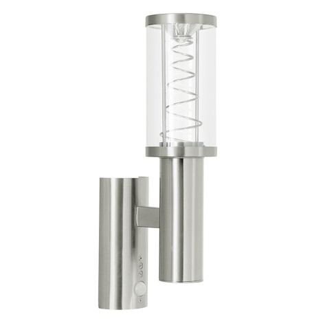 Eglo 94209 - LED venkovní osvětlení s čidlem TRONO 1 1xGU10/3W + 1xLED/3,7W