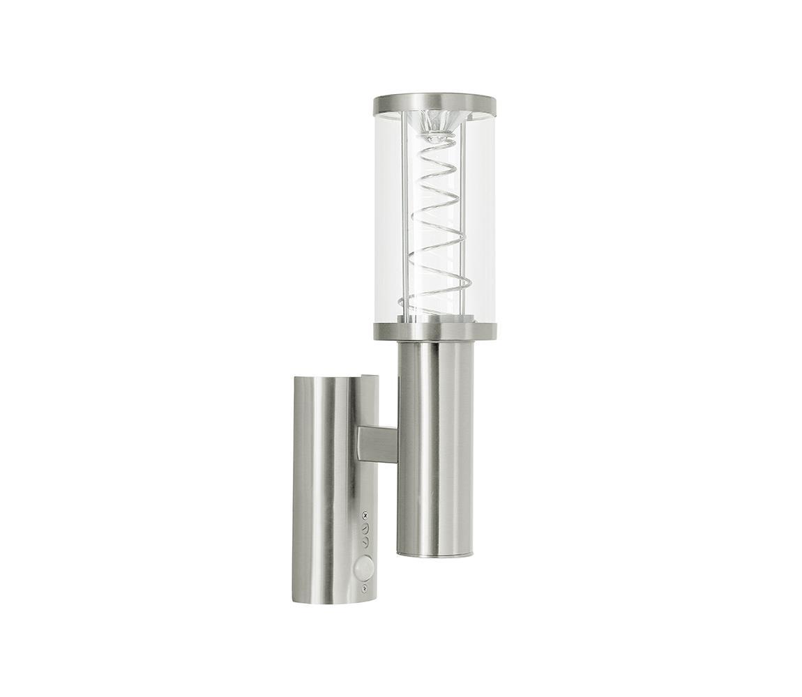 Eglo 94209 - LED venkovní osvětlení s čidlem TRONO 1 1xGU10/3W + 1xLED/3,7W IP44 EG94209