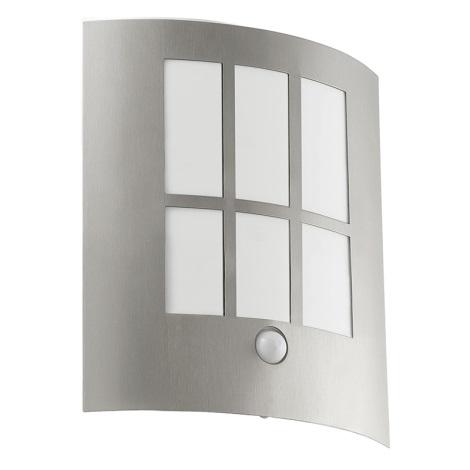 Eglo 94213 - LED Venkovní osvětlení se senzorem CITY LED 1xLED/3,7W/230V IP44