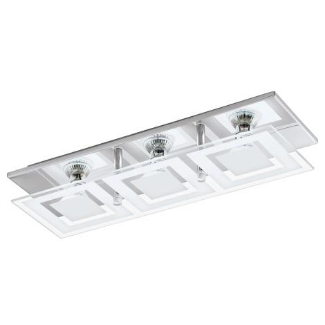 Eglo 94225 - LED stropní svítidlo ALMANA 3xGU10-LED/3W/230V