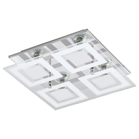 Eglo 94226 - LED stropní svítidlo ALMANA 4xGU10-LED/3W/230V