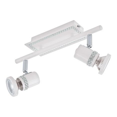 Eglo 94283 - LED Bodové svítidlo BONARES 2xGU10-LED/3,3W/230V
