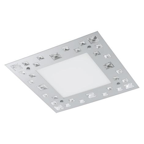 Eglo 94291 - LED stropní svítidlo TRESANA LED/16W/230V křišťál