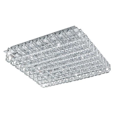 Eglo 94315 - LED křišťálové stropní svítidlo LONZASO 16xLED/3,3W/230V