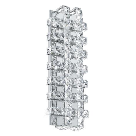 Eglo 94316 - LED křišťálové nástěnné svítidlo LONZASO 6xLED/3,3W/230V