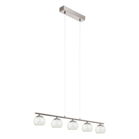 Eglo 94319 - LED závěsné svítidlo ASCOLESE 5xLED/3,3W/230V