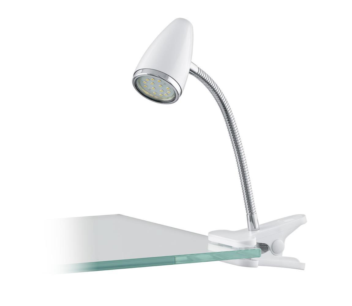 Eglo 94329 - LED Lampa s klipem RICCIO 1xGU10-LED/3W/230V EG94329