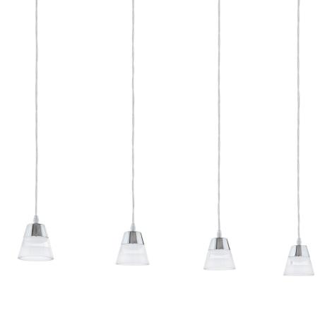 Eglo 94356 - LED lustr PANCENTO 4xLED/4,5W/230V