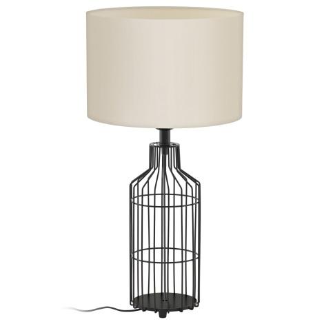 Eglo 94361 - Stolní lampa BOLLENGO 1xE27/60W/230V