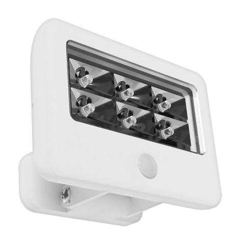 Eglo 94399 - LED venkovní senzorové nástěnné svítidlo GAVELLO LED/0,5W/6xAAA