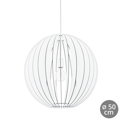 Eglo 94439 - Lustr COSSANO 1xE27/60W/230V