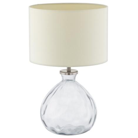 Eglo 94459 - Stolní lampa OSSAGO 1xE27/60W/230V