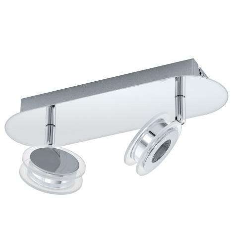 Eglo 94489 - LED Bodové svítidlo SAROLO 2xLED/3,3W/230V