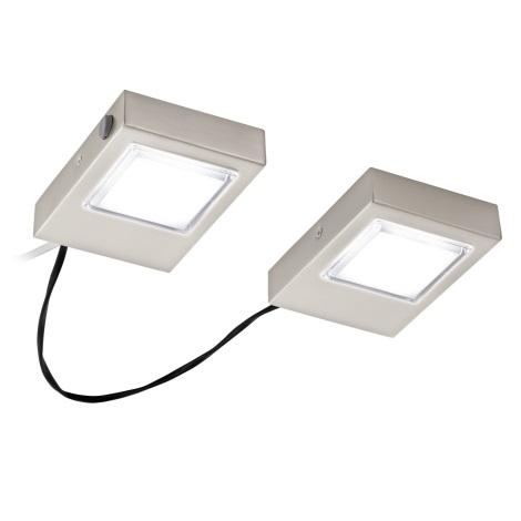 Eglo 94516 - SADA 2x LED Podlinkové svítidlo LAVAIO 2xLED/3,7W/230V