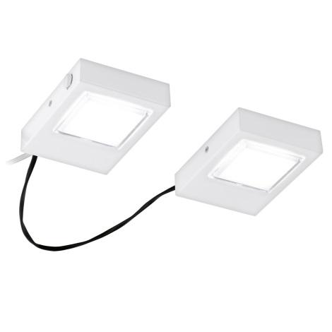 Eglo 94517 - SADA 2x LED Podlinkové svítidlo LAVAIO 2xLED/3,7W/230V