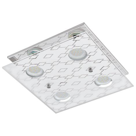 Eglo 94576 - LED stropní svítidlo DOYET 4xGU10-LED/3W/230V