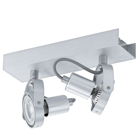 Eglo 94643 - LED Bodové svítidlo NOVORIO 2xGU10/5W/230V