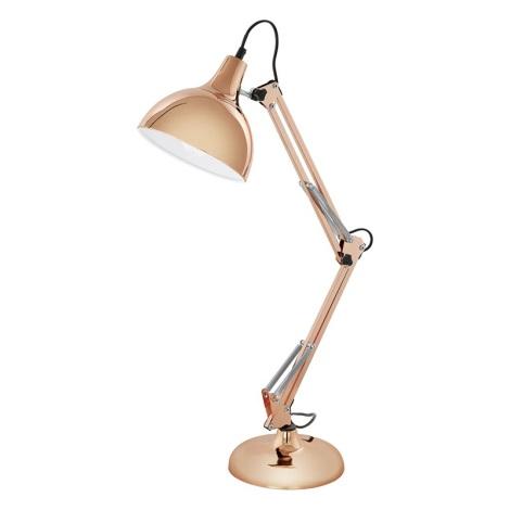 Eglo 94704 - Stolní lampa BORGILLIO 1xE27/60W/230V
