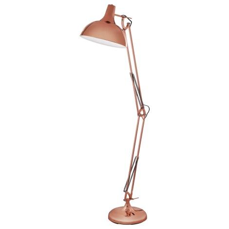 Eglo 94705 - Stojací lampa BORGILLIO 1xE27/60W/230V